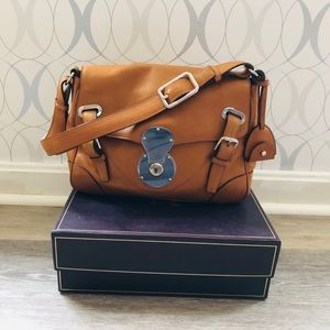 Ralph Lauren Rare Ricky collection leather bag